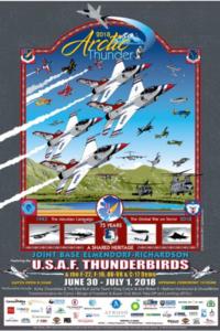 2018 Arctic Thunder Poster